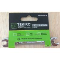 TEKIRO Kunci pas Open end wrench W-O0607M 6x7mm